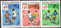 MADAGASCAR - Coupe Du Monde De Football 1982 - Madagascar (1960-...)