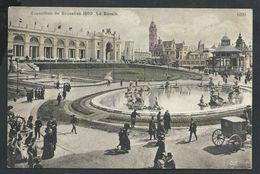 +++ CPA - BRUSSELS - BRUXELLES - Exposition 1910 - Le Bassin   // - Wereldtentoonstellingen