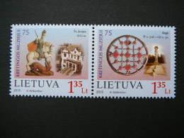 75th Anniversary Of Museum Kretinga # Lietuva Litauen Lituanie Litouwen Lithuania 2010 MNH # Mi. 1042/3 - Lithuania
