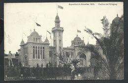 +++ CPA - BRUSSELS - BRUXELLES - Exposition 1910 - Pavillon De L'Uruguay   // - Wereldtentoonstellingen