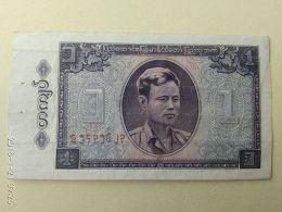 1 Kyat 1965 - Myanmar