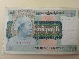 100 Kyat 1987 - Myanmar