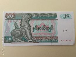 20 Kyats 1994 - Myanmar