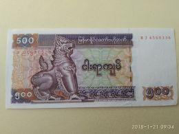 500 Kyats 2004 - Myanmar