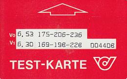 ÖSTERREICH-Testkarte-T7-200 Stück - Austria