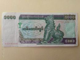 1000 Kyats 1998 - Myanmar