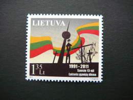 Defenders Of Freedom Day # Lietuva Litauen Lituanie Litouwen Lithuania 2011 MNH # Mi. 1054 - Lithuania