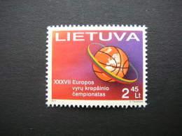 Basketball Championship # Lietuva Litauen Lituanie Litouwen Lithuania 2011 MNH # Mi. 1055 - Lithuania