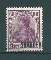 Saar MiNr. 39 * Aufdruck Stark Verschoben   (sab30) - 1920-35 Saargebied -onder Volkenbond