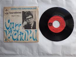 EP 45 T CLIFF RICHARD COLUMBIA CF143 CONGRATULATIONS  EUROVISION 1968 - Disco & Pop