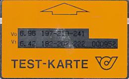 ÖSTERREICH-Testkarte-T3-1200 Stück - Austria
