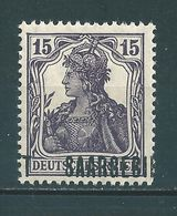 Saar MiNr. 34 * Aufdruck Stark Verschoben   (sab30) - 1920-35 Saargebied -onder Volkenbond