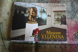 Czech PRAHA , PRAGUE - INSIDE THE LENIN MUSEUM , INTERIOR  12 PCs Set - Repubblica Ceca