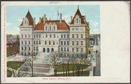 State Capitol, Albany, New York NY, USA, C.1905 - Hugh C Leighton U/B Postcard - Albany