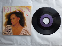 EP 45 T DIANA ROSS  CAPITOL 2C00886442  THINK I'M IN LOVE - Disco & Pop