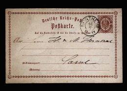 A5098) DR Ganzsachenkarte Northeim Mit Nachverwend. (HAN)-Stempel - Briefe U. Dokumente