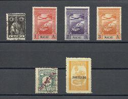 MACAO , MACAU , Lot De 27 Timbres De 1914 à 1953 - Macao