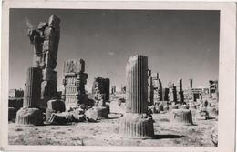 Carte Photo IRAN Ruines Stamps - Iran