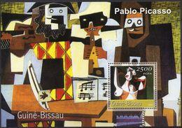 GUINÉ BISSAU 2001 - Art, Tableaux, Pablo Picasso - BF Neufs // Mnh - Picasso