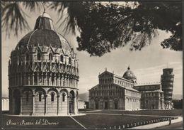 Piazza Del Duomo, Pisa, Toscana, Italia, C.1950 - PS Omniafoto Foto Cartolina - Pisa
