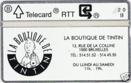 BPR-1990 : P018 TINTIN 1 , KUIFJE MINT - Belgium