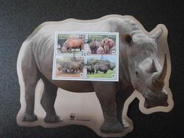 Botswana 2011 - Southern White Rhinoceros S/S - W.W.F.