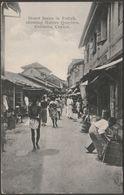 Street Scene, Pettah, Colombo, Ceylon, C.1910 - Plâté Postcard - Sri Lanka (Ceylon)