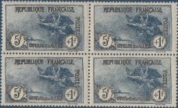 N°__232 ORPHELINS 1917 NEUF**/* BLOC 4 DE TIMBRES POSTE - Nuovi