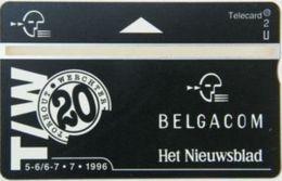BPR-1996 : P423 2u Torhour/Werchter BELGACOM Het Nieuwsblad USED - Belgium