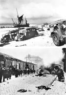 59 DUNKERQUE WW2 Mai Juin 1940 Matériel Abandonné  - Passage De Troupes Anglaises Quai Hollandais CPSM GF Blanckaert - Guerre 1939-45