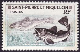 Saint Pierre Et Miquelon  1957 -   Y&T 353  -  Morues - NEUF** - St.Pierre Et Miquelon