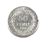50 Centimes - Belgique - 1910 - TTB - Légende Flam.. - Argent - - 1909-1934: Albert I