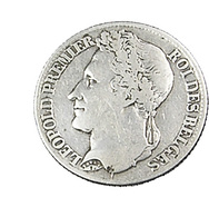 1 Franc  - Belgique - 1844 - TB+ -  Argent - - 1831-1865: Leopold I