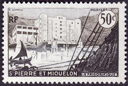 Saint Pierre Et Miquelon  1955 -   Y&T 349 -  Frigorifique - NEUF** - St.Pierre Et Miquelon
