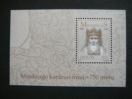 750th Anniversary Of The Coronation Of MindaugasLietuva Litauen Lituanie Litouwen Lithuania 2003 MNH # Mi. 825 Block 28 - Lithuania