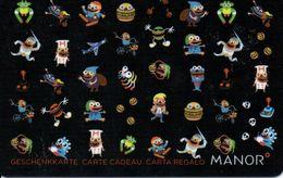 Carte Cadeau - Suisse - MANOR - Gift Cards