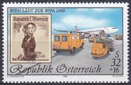 Österreich Austria 1999 Postwesen Philatelie Briefmarkenausstellung WIPA Brauchtum Trachten, Mi. 2292 ** - 1945-.... 2nd Republic