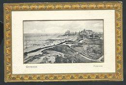 +++ CPA - OOSTENDE - OSTENDE - Carte Fantaisie - Panorama - Dorure - Embossed Relief - Albert Sugg N° 5819  // - Oostende