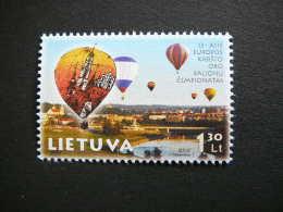 13th European Hot Air Balloon Championships # Lietuva Litauen Lituanie Litouwen Lithuania 2003 MNH # Mi. 826 - Lithuania