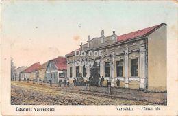 Varannó  - Varonov N. T. Slowakei Slovakia Városháza 1911 - Slowakije