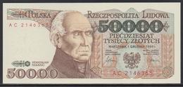 Polen 50'000 Zlotych 01.02.1989 UNC - Poland