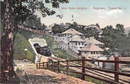 Sarajewo - Neue Bahn Ostgrenze Tunnel No. 1  -Eisenbahn - Bosnia And Herzegovina
