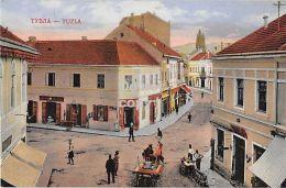 Tuzla - Тузла - Streetscene 1914 - Bosnia And Herzegovina