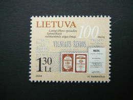 Lithuanian Printing In Latin Characters # Lietuva Litauen Lituanie Litouwen Lithuania 2004 MNH # Mi. 846 - Lithuania
