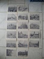 Vieux Papiers > Dépliants De Photos De Paris Monuments De La Capitale Sur Papier - Dépliants Turistici