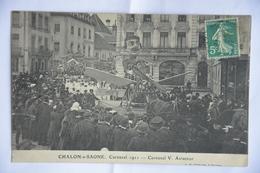 CHALON-sur-SAONE-carnaval 1911-carnaval V Aviateur - Chalon Sur Saone