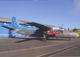 Aviation Postcard- CZECH AIR FORCE Antonov AN-26 Military Card M041 - 1946-....: Moderne