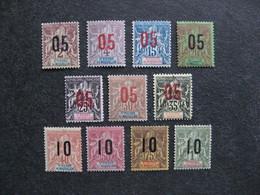 A). Saint Pierre Et Miquelon: TB Série  N° 94 Au N° 104, Neufs X . - St.Pierre & Miquelon