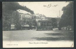 +++ CPA - SPA - Place Royale Et Kiosque  // - Spa