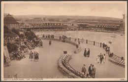 The Promenade, Weston-Super-Mare, Somerset, 1936 - Photochrom Postcard - Weston-Super-Mare